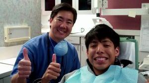 Dr. Chu and a patient - Darren Chu DDS in Anaheim Hills