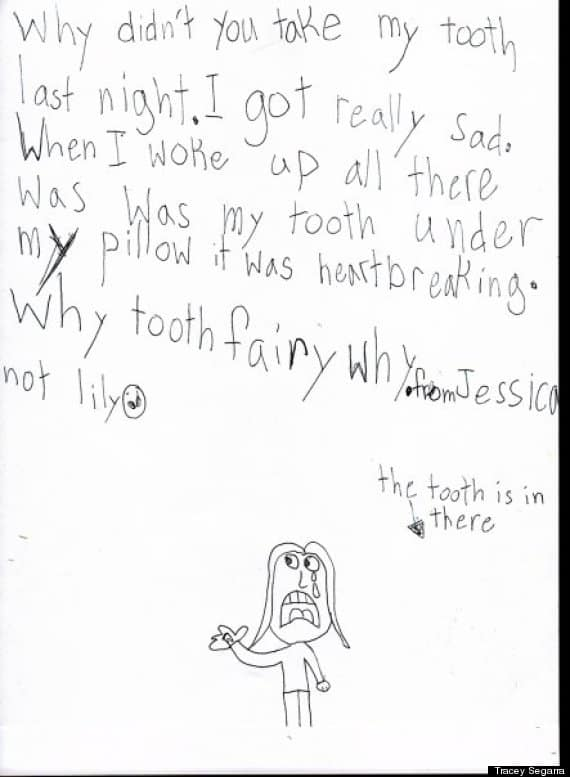 The Tooth Fairy Letter