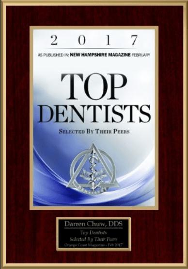 2017 Top Dentist Badge